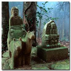 Gyuba-doji statue