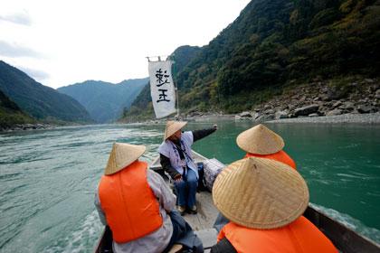 Kumano-gawa River boat trip