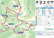 Hongu Area Map